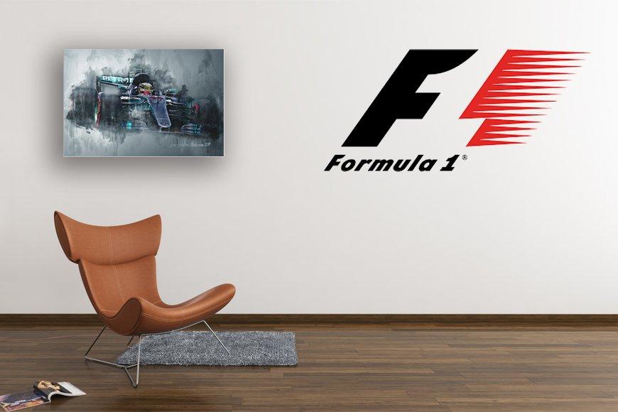 Formula 1 Motorsport Art Canvas