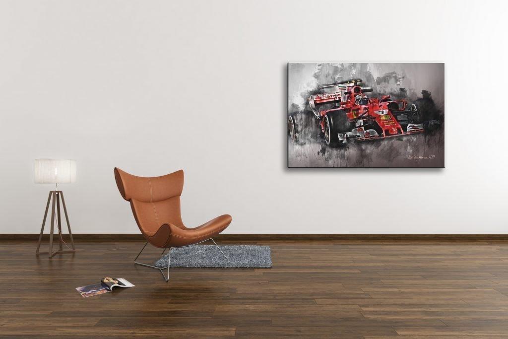 Kimi-Raikkonen-Motorsport-Art