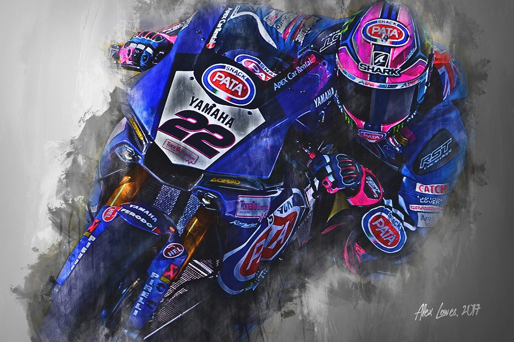 Alex Lowes - World Superbikes Wall Art Canvas Print
