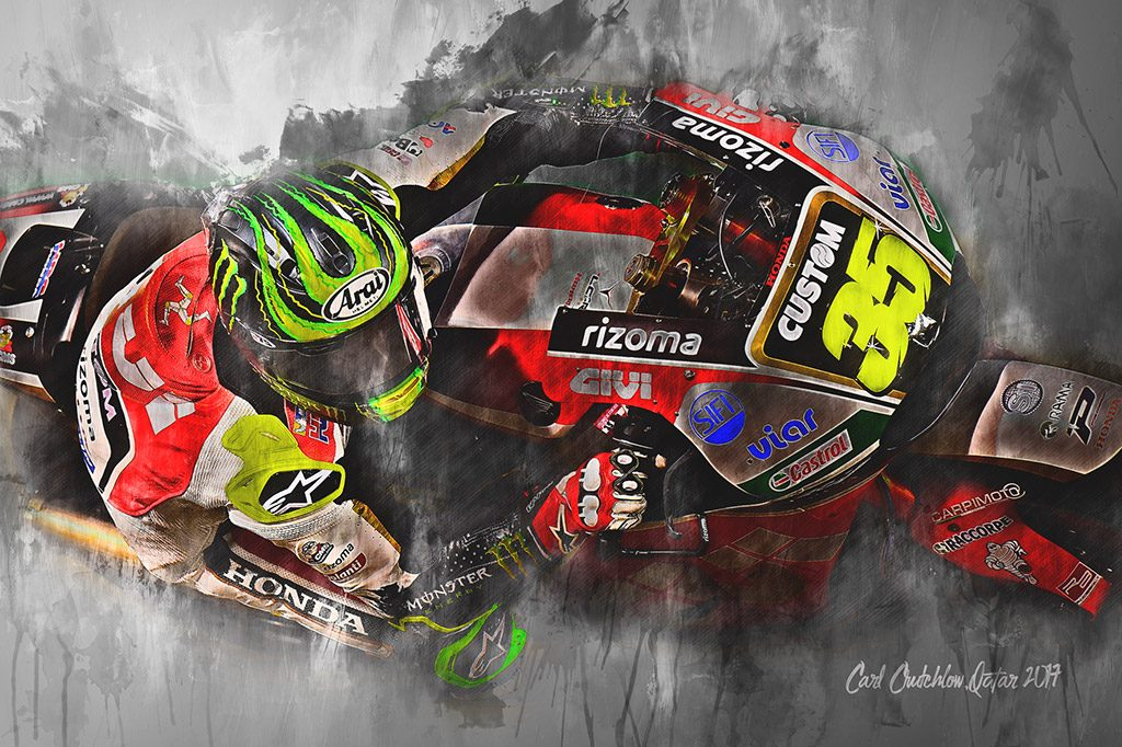 Cal Crutchlow - Moto GP - Wall Art Canvas