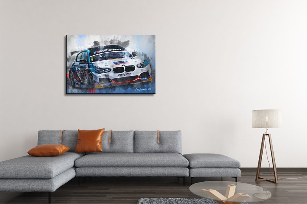 Colin-Turkington-Motorsport-Art