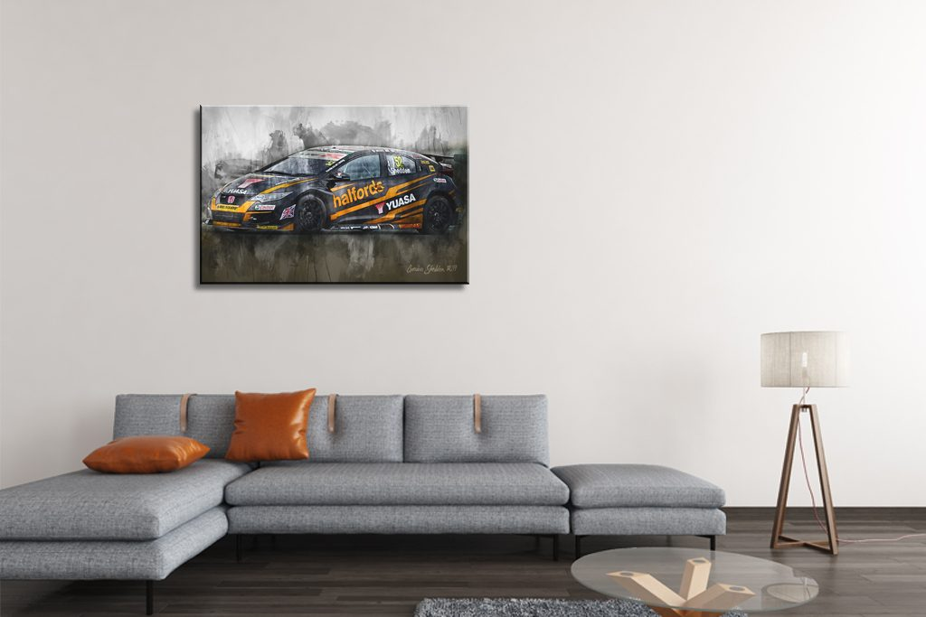 Gordon-Shedden-Motorsport-Art