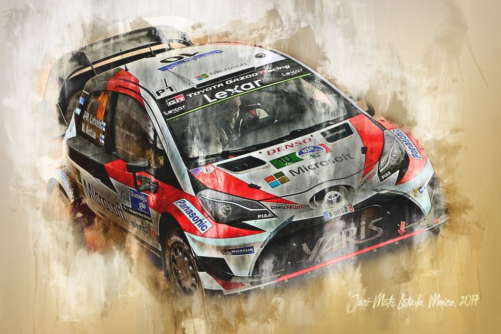 Jari Matti Latvala - World Rally Championship - Wall Art Canvas