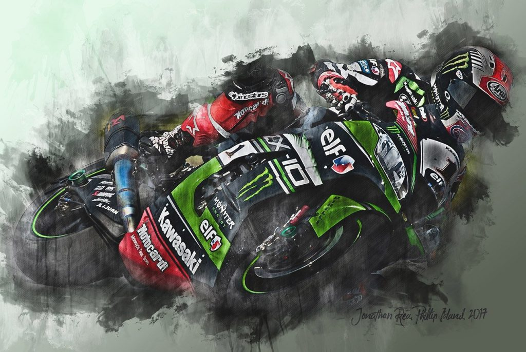 Johnny Rea-Motorsport-Art