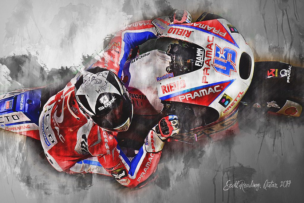 Scott Redding - Moto GP - Wall Art Canvas