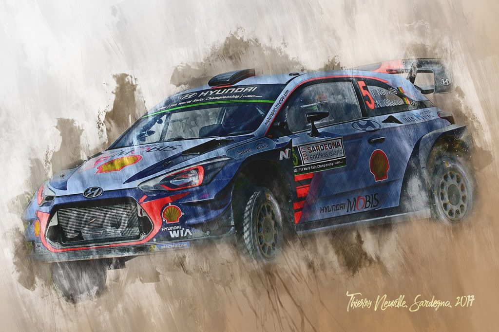 Thierry Neuville - World Rally Championship - Wall Art Canvas