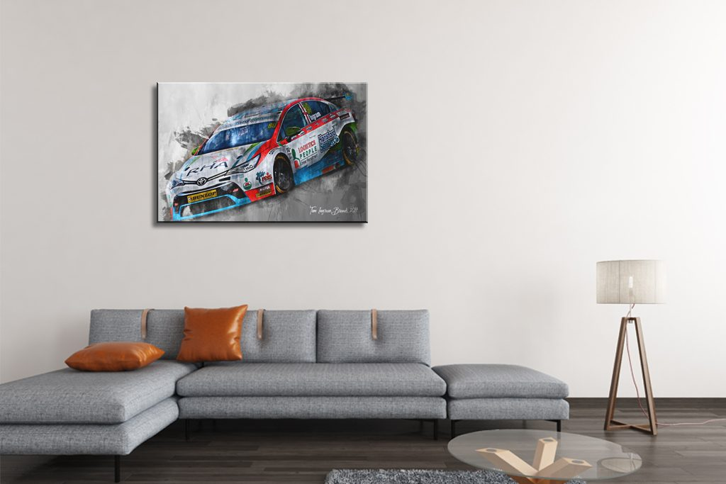 Tom Ingram-Motorsport-Art
