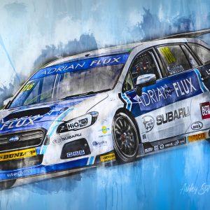 Ashley Sutton 002 | Motorsport Art Canvas | BTCC