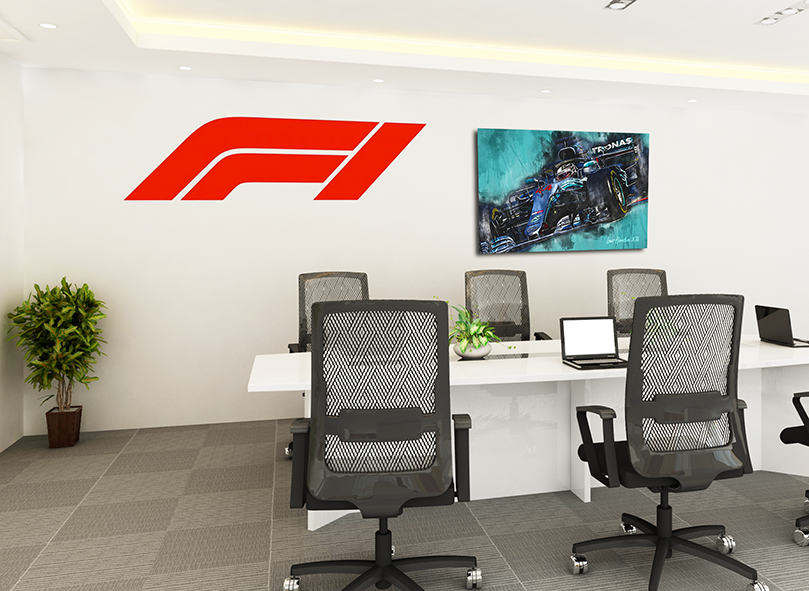 Formula 1 Canvas Art Prints from Motorsport Art Gallery